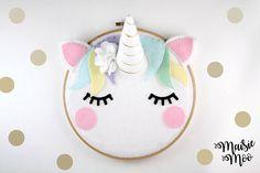 Unicorn Nursery Art Pattern Pdf Unicorn Sewing Pattern