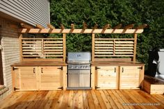 """Acquire excellent suggestions on """"outdoor kitchen designs layout patio"""". They are on call for you on our web site. kitchen design layout Best Ideas Outdoor Kitchen Designs - Best Home Ideas and Inspiration Outdoor Kitchen Bars, Outdoor Kitchen Design, Basic Kitchen, Cuisines Design, Deck Design, Outdoor Cooking, Backyard Patio, Outdoor Living, Kitchen Designs"""