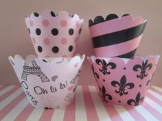 12 Hot Pink & Black