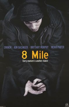 Eminem does what it takes to bust other MC's out of the game in the hit movie 8 Mile! An original poster published in 2002! Fully licensed. Ships fast. 22x34 inches. Need Poster Mounts..? bm7384