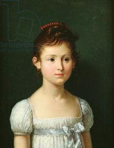 Portrait of Napoleone Baciocchi (1806-69) 1812 , Fabre, Francois Xavier (1766-1837) / Bibliotheque Marmottan, Boulogne-Billancourt, Paris, France / Giraudon / The Bridgeman Art Library
