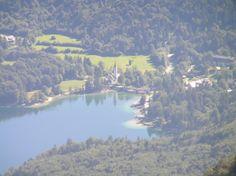 Eslovenia-Funicular Vogel. Lago Bohinj.