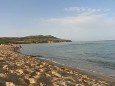 Spiaggia all'alba, (Plagemesu, Gonnesa)