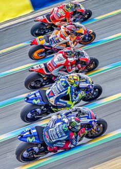 MotoGp - Le Mans (France) by ThomasBenoit Marc Marquez, Gp Moto, Moto Bike, Motorcycle Outfit, Motorcycle Bike, Ducati, Yamaha, Valentino Rossi Logo, Le Mans France