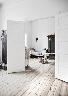 // White, Simple, Beautiful Kid's Rooms - Petit & Small