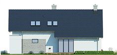 Projekt domu Arystoteles 144,5 m2 - koszt budowy - EXTRADOM Floor Plants, Small House Design, Facade House, House Plans, Exterior, How To Plan, Outdoor Decor, Home Decor, Design Ideas