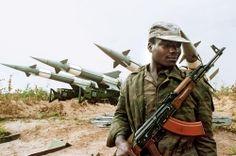 The Angolan Civil War, beginning at the time of the country's independence from Portugal in 1975, was a 27-year struggle involving the deaths of over 500,000 soldiers and civilians. Though the fighting officially ended in 2002, Angola remains in economic and social turmoil with a massive refugee crisis and millions of landmines impeding farming practices.