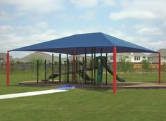 4-Post Hip Shade Canopy | Designs For Shade®