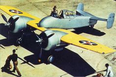 The Grumman XF5F Skyrocket was a prototype of a twin-engine shipboard fighter interceptor to which Grumman Aircraft Engineering Corporation applied the model number G-34. The U.S. Navy ordered one prototype airplane on 30 June 1938 with the designation XF5F-1