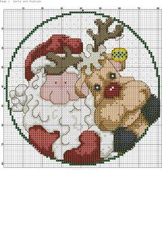 santa and Rudolph 4/ 2