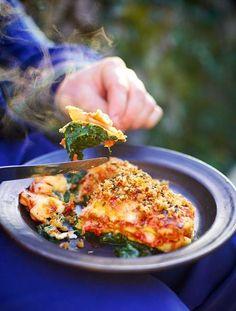 be healthy-page: Crispy duck lasagne