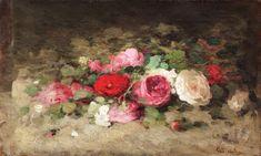 Trandafiri [1863-1867] Nicolae Grigorescu Ale, Shabby Chic, Miniatures, Painting, Artists, Shop Signs, Ale Beer, Painting Art, Paintings