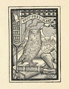 Vintage Ephemera: Ex Libris(bookplates)