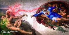 Superhero ModRen 6 - Worth1000 Contests