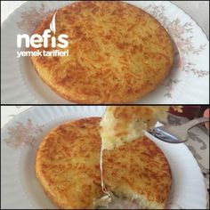 Kaşarlı Patates Rendesi - Nefis Yemek Tarifleri - Kahvaltılıklar - Las recetas más prácticas y fáciles Cheddar, Good Food, Yummy Food, Turkish Recipes, Snacks, Cake Recipes, Breakfast Recipes, Food And Drink, Cooking Recipes