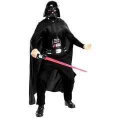 Extraordinario disfraz de Darth Vader™ en tallaje adulto bajo licencia oficial Star Wars™ (Lucasfilm™). ¡Conviértete en el antagonista principal de la trilogía original de la saga de la guerra de las galaxias! Perfecto para cualquier fiesta de disfraces.