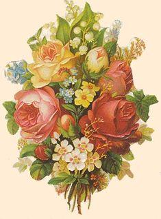 Victorian Scrap - flowers