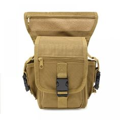 Tactical Belt bag Men Army Vintage Thigh Bag Utility Waist Pack Pouch Adjustable Hiking Male Waist Hip Motorcycle Leg Bag Price: 7.36 & FREE Shipping #fashion #style #love #instagood #dress #beauty #shoes #beautiful #girl #outfit #cute #stylish #photooftheday #girls #model #pretty #jewelry Mens Gym Bag, Bag Men, Molle Accessories, Thigh Bag, Hunting Bags, Sports Footwear, Tactical Belt, Money Clip Wallet, Waist Pack
