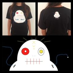 The EggEye T-shirt is here! Get your Creeps gear at www.creepsbycubbins.com