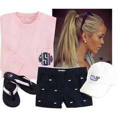 """""""Boat Day with the Vineyard"""" by raining-crystals on Polyvore"""
