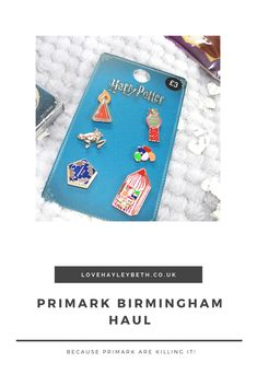 Primark are just killing it with the harry potter pins right now!