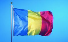 Flag of Romania wallpaper