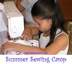 NEW UPDATES!!! You can plan your own Summer Sewing Camp. Over the next several weeks I will be posting instructions on how to teach your children to sew in the form of a camp.