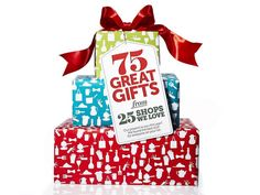 Gifts, gifts, and more gifts! We hand-picked items from some of our favorite stores to make shopping easier this year. #hgtvmagazine #giftguide http://www.hgtv.com/holidays-and-entertaining/hgtv-magazines-2013-holiday-gift-guide/pictures/index.html?soc=pinterest
