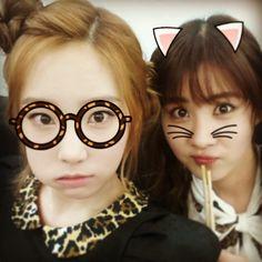taeyeon_ss: With Giantbunnybaby♡ 오늘 맛있는 음식선물 정말 잘먹었습니다^^ #Taengstagram #130413
