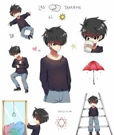 Emo, Velasco, Cute Anime Boy, Drawing Reference, Chibi, Drawings, Boys, Good Things, Backgrounds