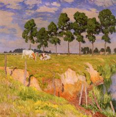 Emile Claus ~ Luminist painter