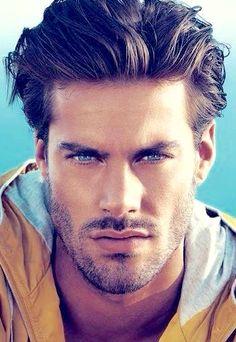 Handsome Scruffy Male Model
