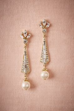 Want these beauties for my wedding! Spire Earrings from @BHLDN #BHLDNwishes