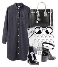 Untitled #327 by mari-mmp on Polyvore featuring polyvore, fashion, style, Steven Alan, Miu Miu, Yves Saint Laurent, ASOS, Burberry, Cartier and Essie