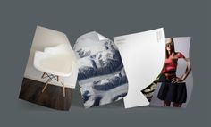 Design: Triptych Designer: Felix Ackerman Products: Letterheads, Notecards, MiniCards, Business Cards