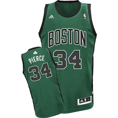 da1be62026e Adidas NBA Boston Celtics 34 Paul Pierce New Revolution 30 Swingman  Alternate Green Jersey Basketball Uniforms