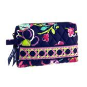 Vera Bradley Small Cosmetic Case! Perfect To Use As A Pencil Pouch :) Love The Plastic Inside Liner To Keep Spills From Ruining The Fabric!