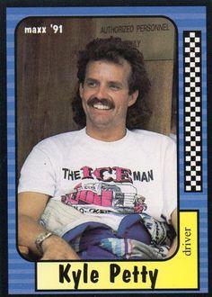 1991 JR Maxx Nascar Racing Sport Card Drivers KYLE PETTY
