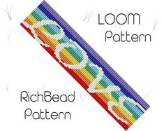 off loom beading techniques Bead Embroidery Patterns, Bead Crochet Patterns, Beading Patterns Free, Beaded Jewelry Patterns, Weaving Patterns, Bead Jewelry, Mosaic Patterns, Art Patterns, Painting Patterns