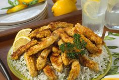 Chicken is a great source of quality protein. People on dialysis need quality protein in their diets to help them keep up their albumin levels and stay healthy. But chicken doesn't have to be boring. DaVita renal dietitian, Dee from Nevada, provides a tasty main dish that makes having chicken a special occasion. Easy Crispy Lemon Chicken is fresh and zesty.