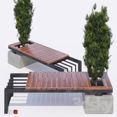 bench and thuja is part of House furniture design - Welded Furniture, Cheap Patio Furniture, Iron Furniture, Garden Furniture, Rustic Furniture, Street Furniture, Antique Furniture, Furniture Decor, Modern Furniture