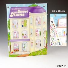 Create your Sweet Home colouring book by TopModel