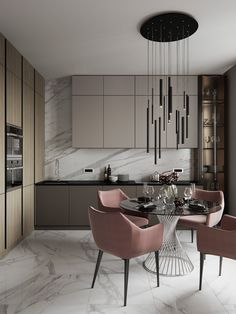 Scandinavian Kitchen Design Modern Decor – Home Decoration and Improvement Kitchen Room Design, Modern Kitchen Design, Dining Room Design, Home Decor Kitchen, Modern Interior Design, Interior Design Living Room, Kitchen Ideas, Modern Decor, Urban Kitchen