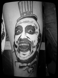 House of 1000 Corpses.  Captain Spaulding!!!