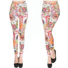 4259804644bd4 2016 New Leggings Colorfull Vines Flower High Quality Leggings Plus Size  Fitness Sexy Black Milk Pants. Plus Size WorkoutPrinted LeggingsWomen's ...
