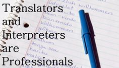 media communication interpreters translators
