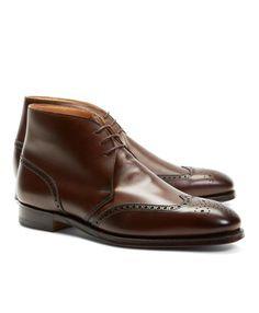 9402486e8c7 Brooks Brothers Peal   Co. Leather Wingtip Boots