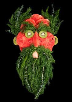 Meet and eat: characters made from fruit and veg – in pictures