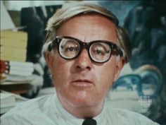 Ray Bradbury-- what he says about feeling, then creating, is AWESOME! Have a feeling? Follow it.. write, paint, play sports.. express it. Brilliant! I was lucky enough to meet Ray when I was just a tween. He's as cool in person as he is here. What a teacher! SO wise! This video could inspire many students. And his books aren't bad either!