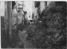 calle Camas, inundaciones 1907 ANCIENT MALAGA-SPAIN